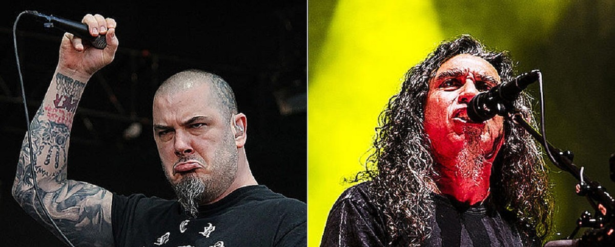 "Ο Philip Anselmo στο... ""Tom Araya Theme Song"""