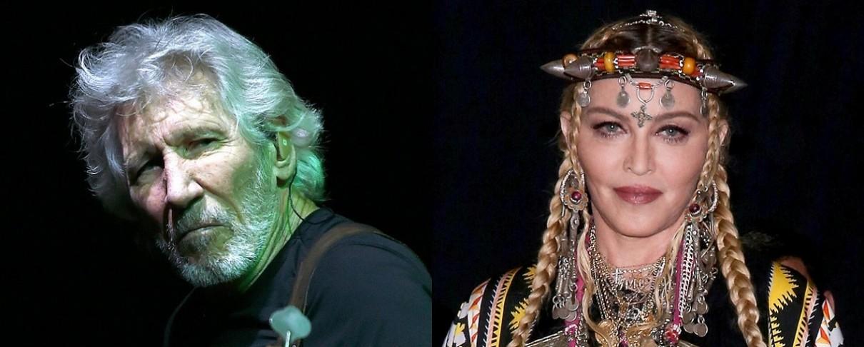 Ο Roger Waters προτρέπει την Madonna σε μποϊκοτάζ κατά της Eurovision