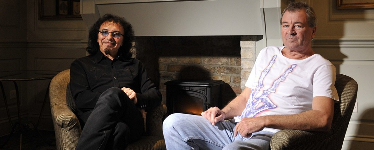 "Tony Iommi και Ian Gillan παρακολουθούν ορχήστρα από την Αρμενία να εκτελεί το ""She's Gone"""