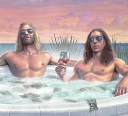 Ο Taylor Hawkins των Foo Fighters συνεργάζεται με τον Duff McKagan και την Chrissie Hynde