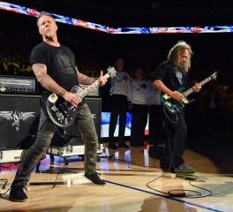 Οι Metallica στους τελικούς του NBA