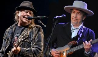 Bob Dylan και Neil Young στην ίδια σκηνή μετά από 25 χρόνια
