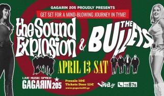 Κερδίστε προσκλήσεις για τη συναυλία των Sound Explosion και των The Bullets