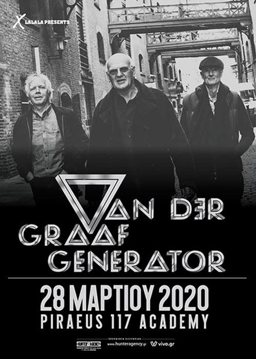 Van Der Graaf Generator @ Piraeus Academy