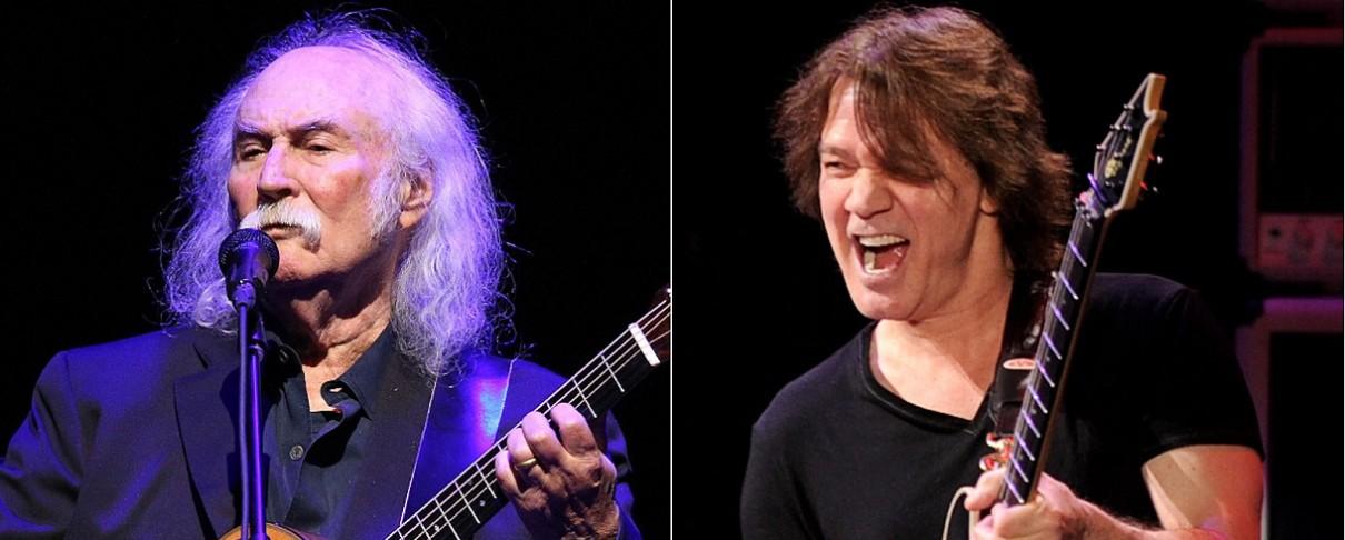 O David Crosby διευκρινίζει την άποψή του σχετικά με τον Eddie Van Halen