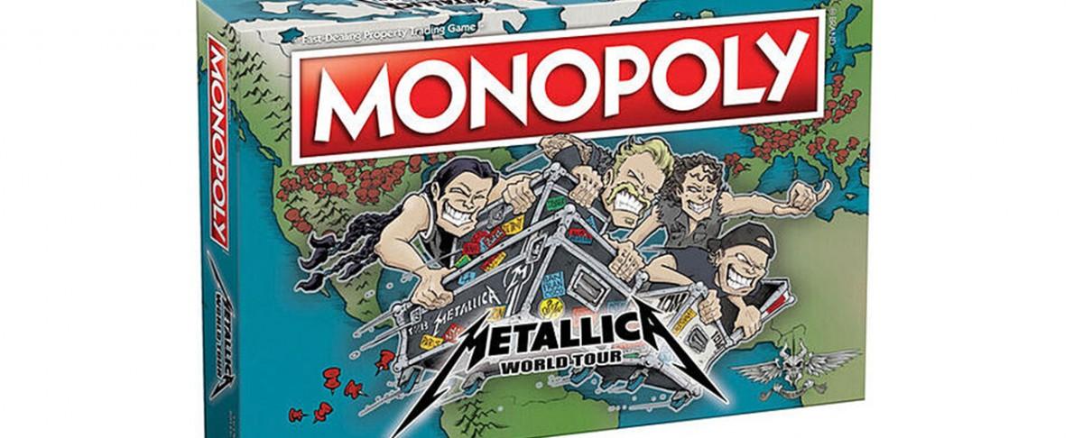 Οι Metallica κυκλοφορούν νέα έκδοση της Monopoly