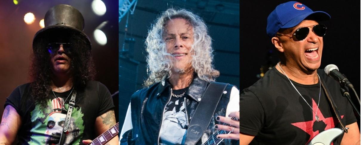 Slash, Hammett και Morello τιμούν τον Eddie Van Halen στην τελετή του Rock And Roll Hall Of Fame