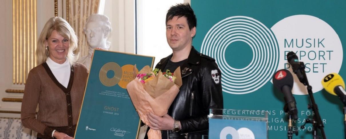 Νικητές του σουηδικού Music Export Prize 2019 αναδείχθηκαν οι Ghost