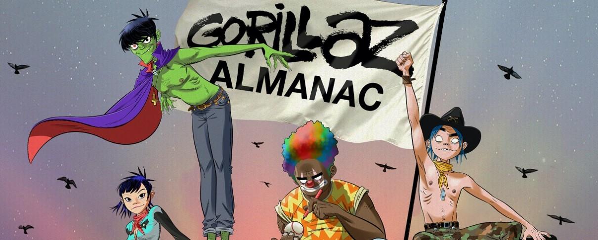 Ένα βιβλίο κόμικς από τους Gorillaz