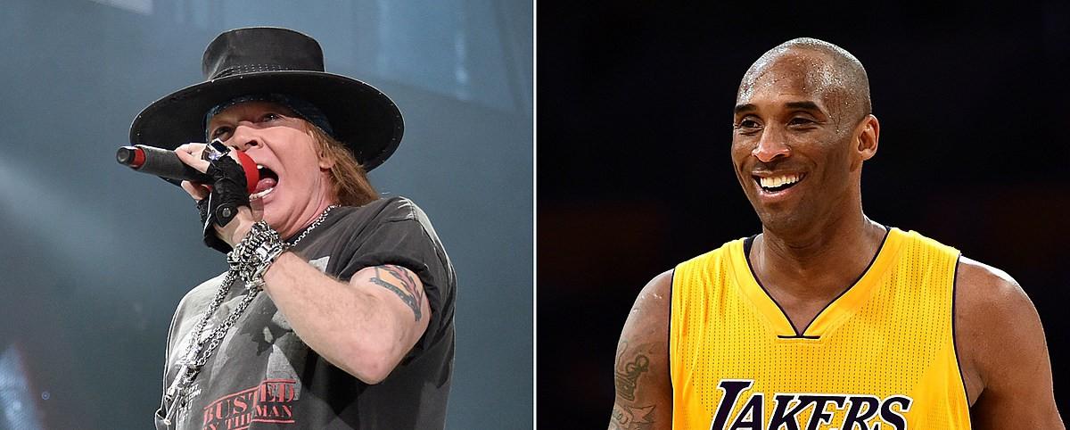 """Knockin' Οn Heaven's Door"": Οι Guns N' Roses αφιερώνουν στον Kobe Bryant"