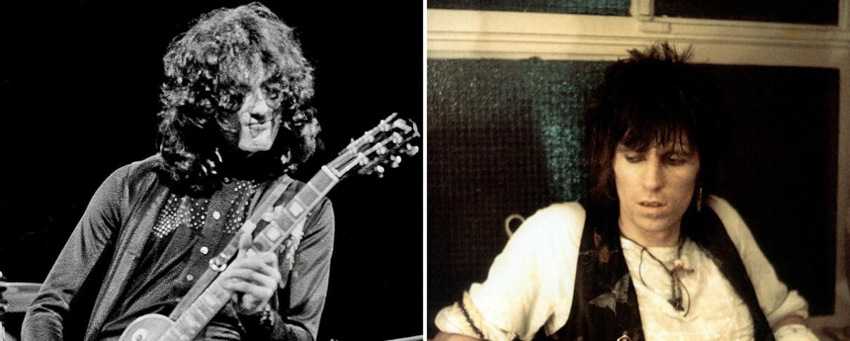 Ο Jimmy Page θυμάται την πρώτη του συνάντηση με τους Rolling Stones