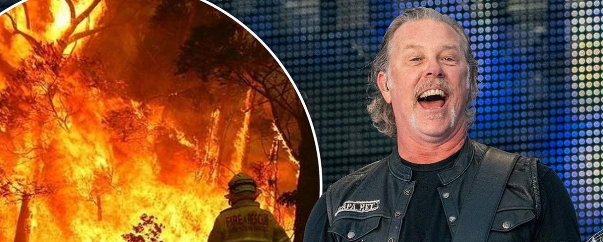 Οι Metallica δωρίζουν 500.000$ για την ανακούφιση από τις πυρκαγιές στην Αυστραλία