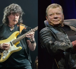 Ακούστε τη συμμετοχή του Ritchie Blackmore στο νέο δίσκο του William Shatner