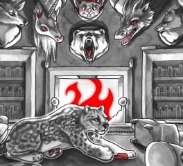 The White Stripes: Animated video διάρκειας 90 λεπτών με αφορμή το έθιμο Yule Log