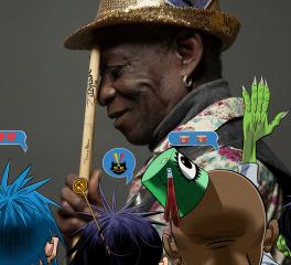 Νέο κομμάτι των Gorillaz στην μνήμη του Tony Allen