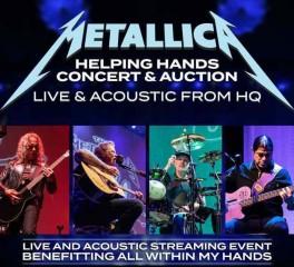 Οι Metallica πραγματοποίησαν ακουστικό live stream με εκπλήξεις