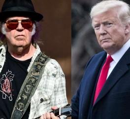 Ο Neil Young καταθέτει μήνυση εναντίον της εκστρατείας Trump