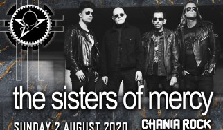 Οι Sisters Of Mercy headliners στο Chania Rock Festival 2020