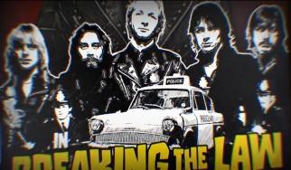 "Judas Priest: Lyric video για το ""Breaking Τhe Law"""