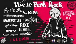Το Vive Le Punk Rock Fest επιστρέφει για 7η χρονιά
