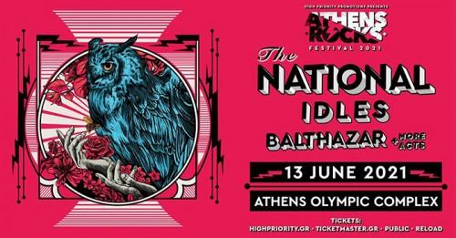 AthensRocks Festival: The National, Idles, Balthazar Αθήνα @ Ολυμπιακό Στάδιο