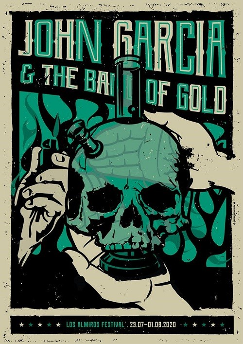 Los Almiros Festival: John Garcia & The Band Οf Gold Αλμυρός Μαγνησίας @ -