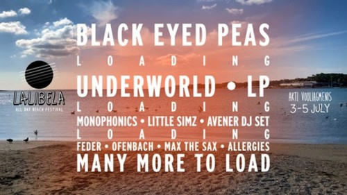 Lalibela Festival: Black Eyed Peas, Monophonics, Max Τhe Sax, Feder, Ofenbach, The Allergies Αθήνα @ Ακτή Βουλιαγμένης