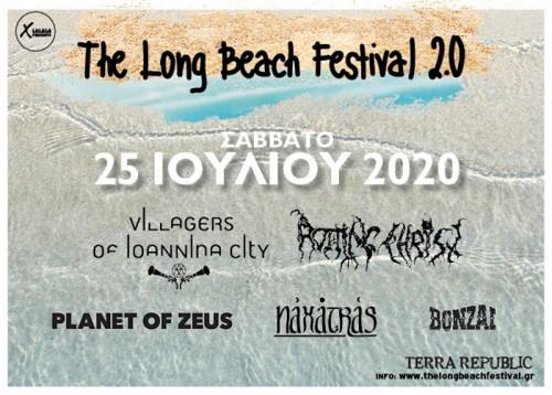 Long Beach Festival 2.0: Villagers Of Ioannina City, Rotting Christ, Planet Of Zeus, Naxatras, Bonzai Δ.Κ. Πύδνας @ Terra Republic
