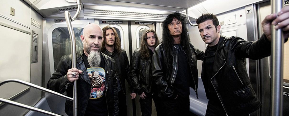 Πληροφορίες για το επετειακό livestream των Anthrax