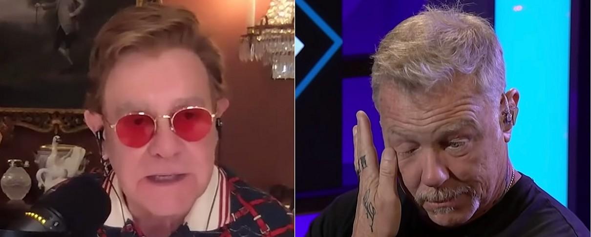 "O Elton John αποθεώνει το ""Nothing Else Matters"" κάνοντας τον Hetfield να δακρύσει"