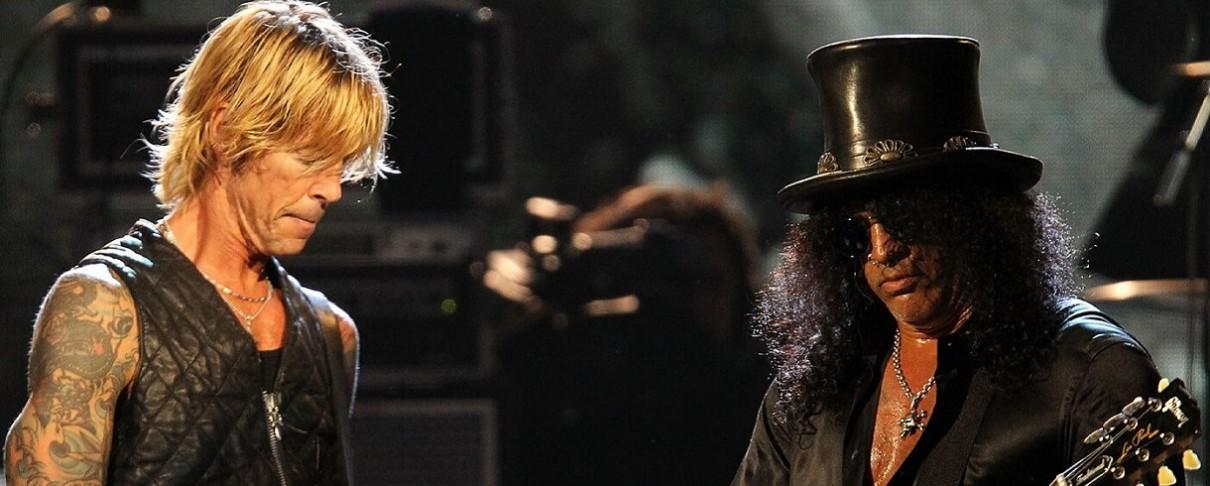 O Duff McKagan θυμάται την πρώτη του γνωριμία με τον Slash