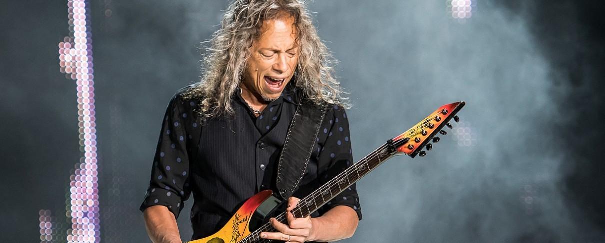 """Σε δημοπρασία η κιθάρα του Kirk Hammett από το video-clip του """"One"""""""
