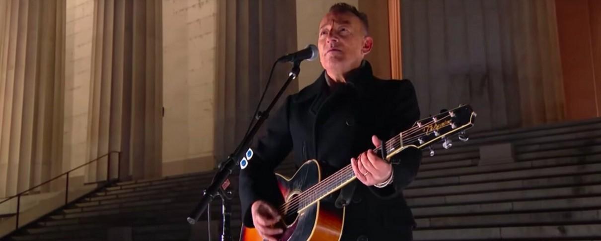 Bruce Springsteen, Foo Fighters, Bon Jovi, New Radicals στην ορκομωσία Biden/Harris (video)