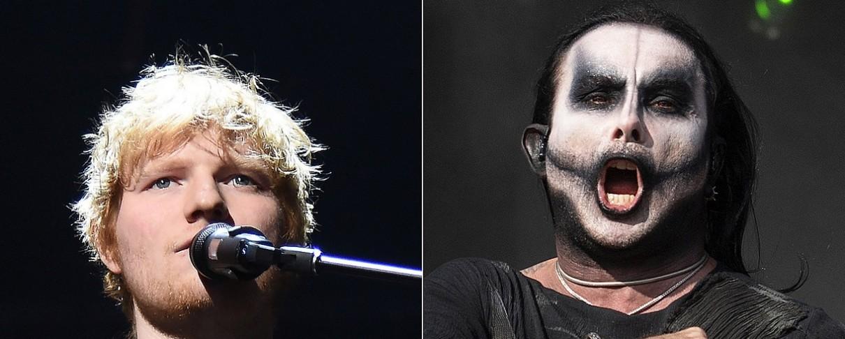Ed Sheeran: «Δεν θα ήμουν αντίθετος στη δημιουργία ενός death metal άλμπουμ»