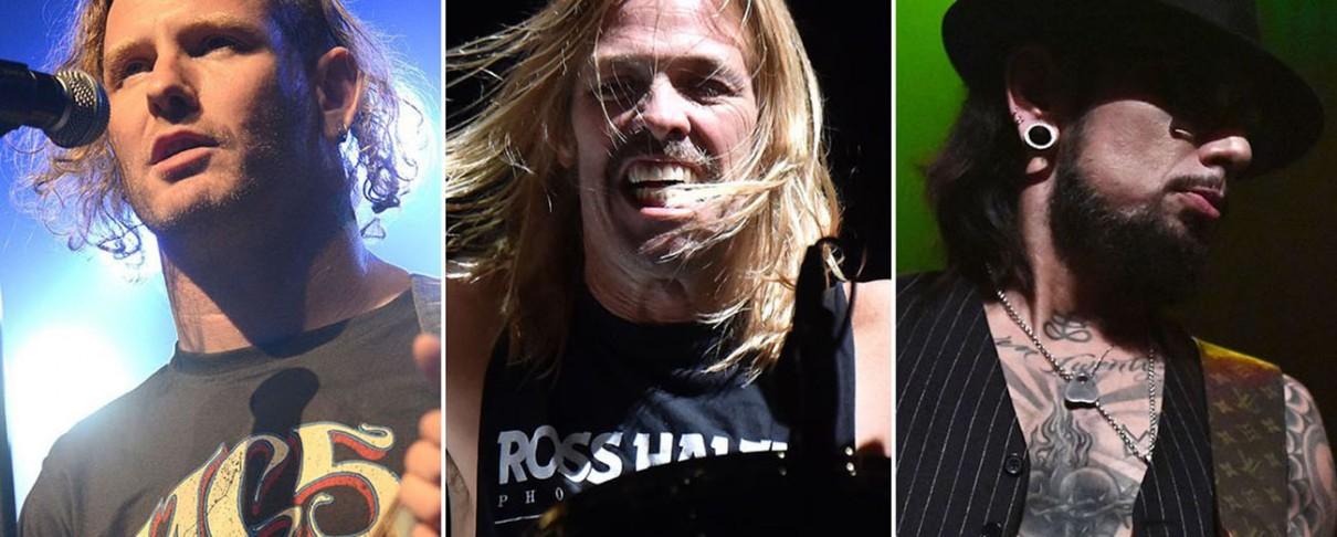 Το supergroup των Corey Taylor, Taylor Hawkins και Dave Navarro στο live stream προς τιμήν του David Bowie