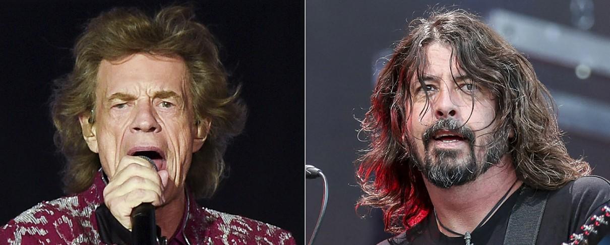 Ακούστε τη συνεργασία του Mick Jagger και του Dave Grohl