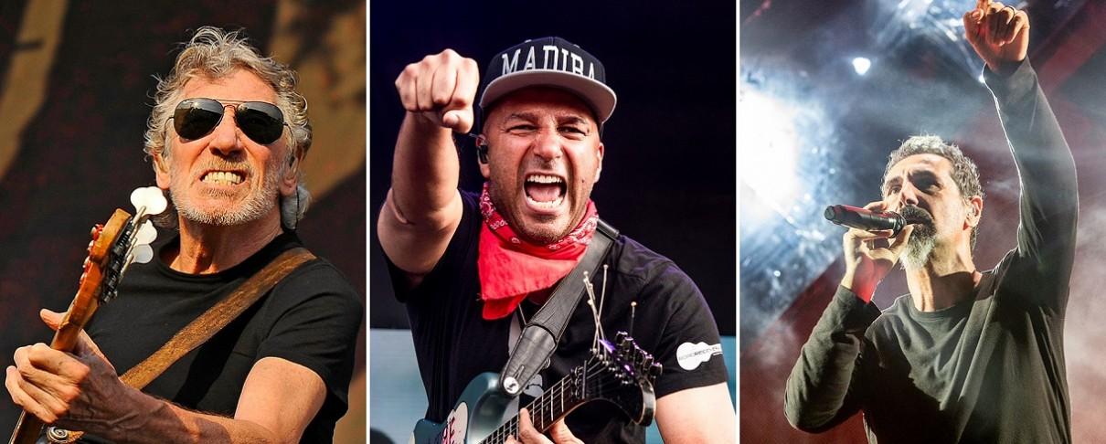 Roger Waters, Rage Against The Machine, Serj Tankian, κ.ά. καλούν σε μποϊκοτάζ εναντίον του Ισραήλ