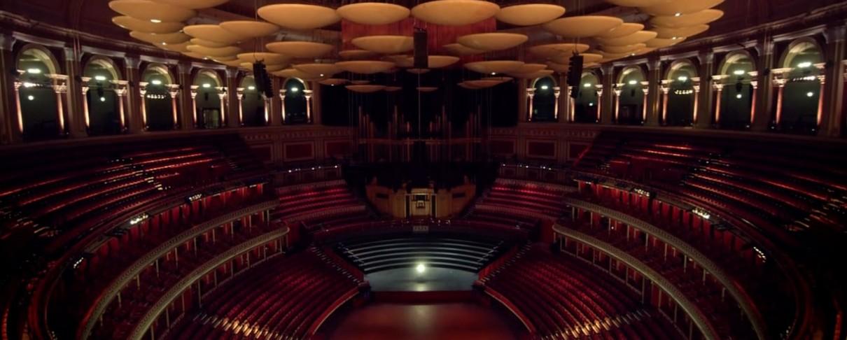 150 χρόνια ιστορίας σε ένα video για το κλειστό Royal Albert Hall