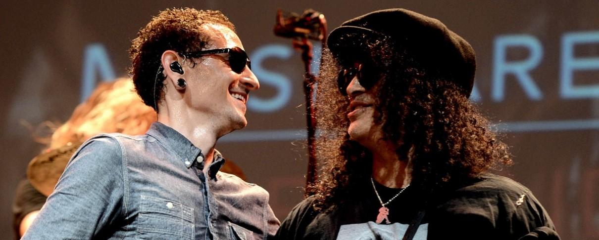 Ακούστε την ακυκλοφόρητη συνεργασία του Slash με τον Chester Bennington