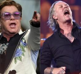 Elton John: «Ηχογράφησα πρόσφατα με τους Metallica»