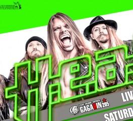 Αναβάλλεται η συναυλία των H.E.A.T. στην Αθήνα
