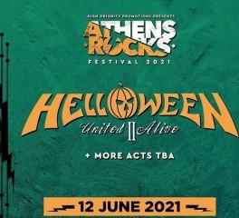 Ακυρώνεται η εμφάνιση των Helloween στο Athens Rocks