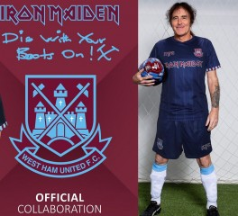 Iron Maiden και West Ham ανανεώνουν την συνεργασία τους