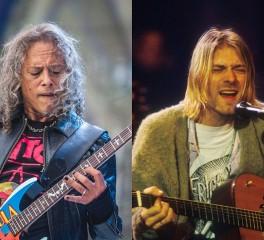 Kirk Hammett: «Με είχε εκπλήξει το πόσο μεγάλος οπαδός μας ήταν ο Kurt Cobain»