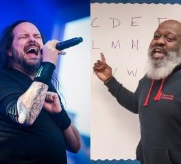 Δάσκαλος χρησιμοποεί τους Korn στην διδασκαλία του αλφαβήτου