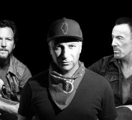 Ακούστε τους Tom Morello, Bruce Springsteen και Eddie Vedder να διασκευάζουν AC/DC