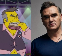 Ο Morrissey κατηγορεί τους Simpsons για ρατσισμό