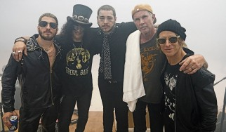 Slash, Chad Smith και Post Malone διασκευάζουν Black Sabbath και Alice In Chains