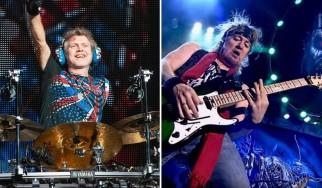 O Adrian Smith υπήρξε υποψήφιος κιθαρίστας των Def Leppard