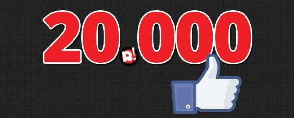 20.000 φίλοι του Rocking.gr στο Facebook